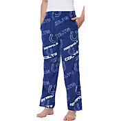 Concepts Sport Men's Indianapolis Colts Keystone Blue Fleece Pants
