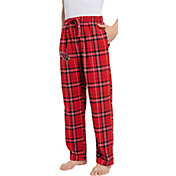 Concepts Sport Men's Arizona Cardinals Hillstone Flannel Pants