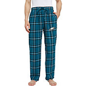 Concepts Sport Men's Philadelphia Eagles Hillstone Flannel Pants