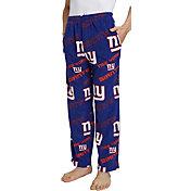 Concepts Sport Men's New York Giants Keystone Blue Fleece Pants