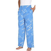 Concepts Sport Men's Detroit Lions Keystone Blue Fleece Pants