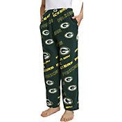 Concepts Sport Men's Green Bay Packers Keystone Green Fleece Pants