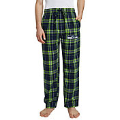 Concepts Sport Men's Seattle Seahawks Hillstone Flannel Pants