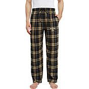 Concepts Sport Men's New Orleans Saints Hillstone Flannel Pants