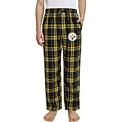 Concepts Sport Men's Pittsburgh Steelers Hillstone Flannel Pants