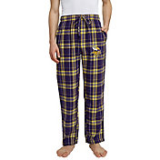Concepts Sport Men's Minnesota Vikings Hillstone Flannel Pants