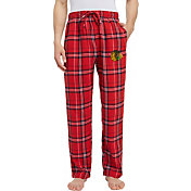 Concepts Sport Men's Chicago Blackhawks Hillstone Red Flannel Pants