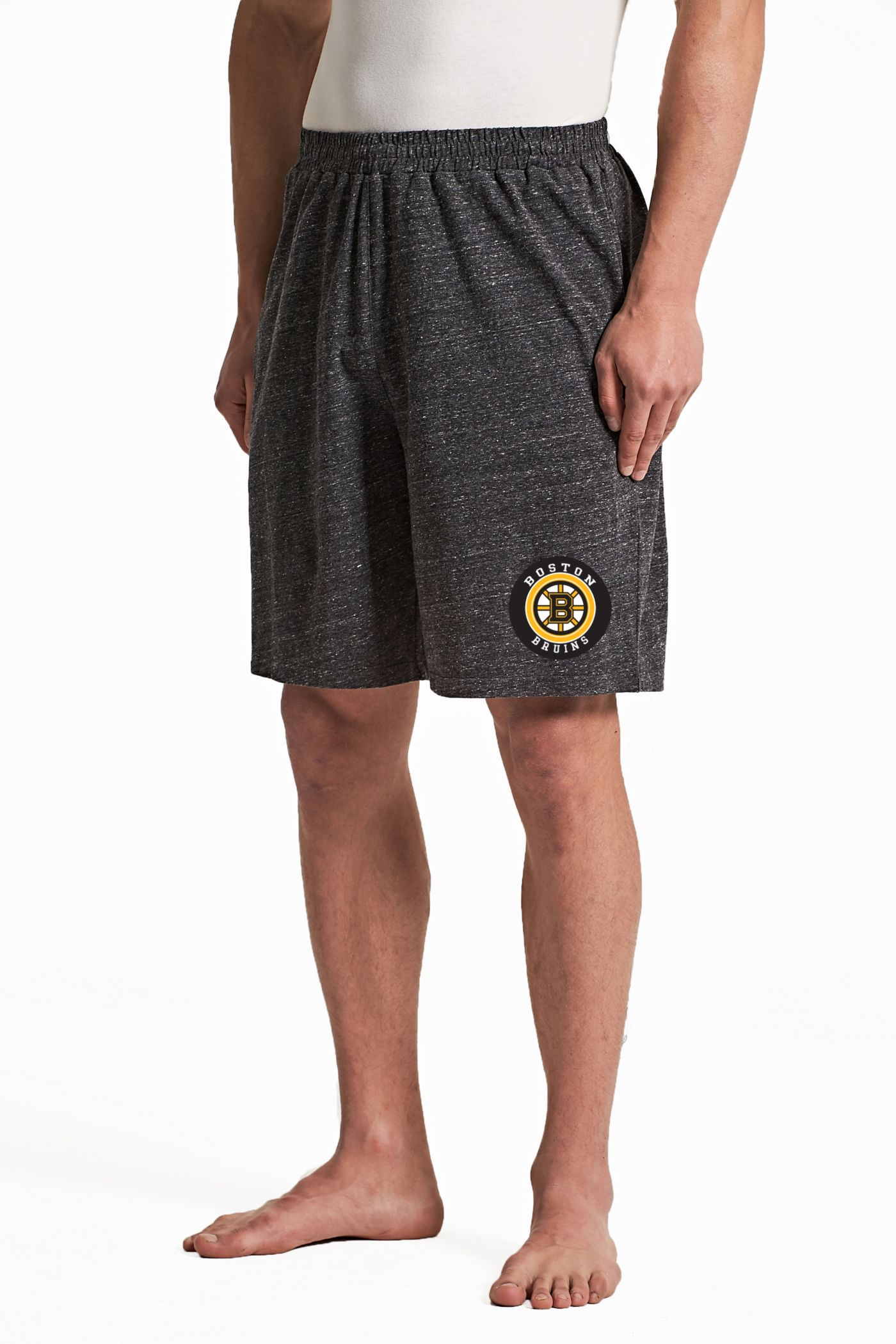Concepts Sport Men's Boston Bruins Pitch Grey Shorts