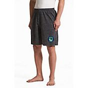Concepts Sport Men's Vancouver Canucks Pitch Grey Shorts