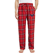 Concepts Sport Men's Washington Capitals Hillstone Red Flannel Pants