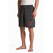 Concepts Sport Men's Arizona Coyotes Pitch Grey Shorts