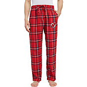 Concepts Sport Men's New Jersey Devils Hillstone Red Flannel Pants