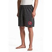 Concepts Sport Men's Carolina Hurricanes Pitch Grey Shorts