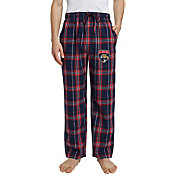 Concepts Sport Men's Florida Panthers Hillstone Navy Flannel Pants