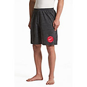 Concepts Sport Men's Detroit Red Wings Pitch Grey Shorts