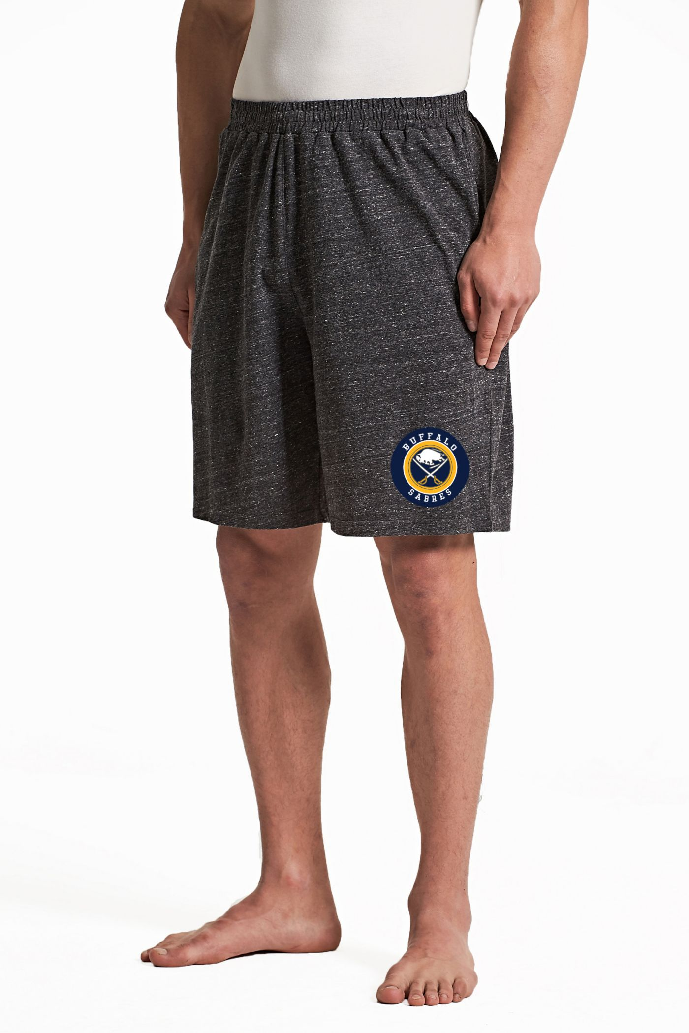 Concepts Sport Men's Buffalo Sabres Pitch Grey Shorts