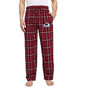 Concepts Sport Men's Colorado Avalanche Hillstone Maroon Flannel Pants