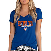 Concepts Sport Women's FC Cincinnati Marathon Royal T-Shirt
