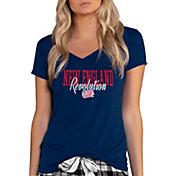 Concepts Sport Women's New England Revolution Marathon Navy Long Sleeve Shirt