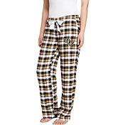 Concepts Sport Women's UCF Knights Black/Gold Piedmont Flannel Sleep Pants