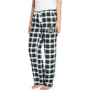 Concepts Sport Women's Colorado State Rams Green/Black Piedmont Flannel Sleep Pants