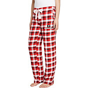 Concepts Sport Women's Georgia Bulldogs Red/Black Piedmont Flannel Sleep Pants