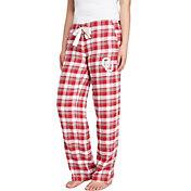 Concepts Sport Women's Oklahoma Sooners Crimson/Grey Piedmont Flannel Sleep Pants