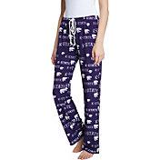 Concepts Sport Women's Kansas State Wildcats Purple Fairway Sleep Pants