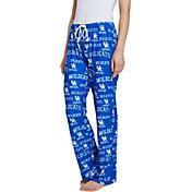 Concepts Sport Women's Kentucky Wildcats Blue Fairway Sleep Pants