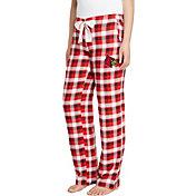 Concepts Sport Women's Louisville Cardinals Cardinal/Black Piedmont Flannel Sleep Pants