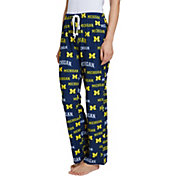 Concepts Sport Women's Michigan Wolverines Blue Fairway Sleep Pants