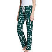 Concepts Sport Women's Michigan State Spartans Green Fairway Sleep Pants