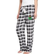 Concepts Sport Women's Marshall Thundering Herd Black/Grey Piedmont Flannel Sleep Pants