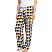 Concepts Sport Women's Missouri Tigers Black/Gold Piedmont Flannel Sleep Pants