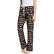 Concepts Sport Women's Missouri Tigers Fairway Sleep Black Pants