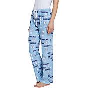 Concepts Sport Women's North Carolina Tar Heels Carolina Blue Fairway Sleep Pants
