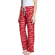 Concepts Sport Women's Indiana Hoosiers Crimson Fairway Sleep Pants