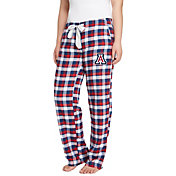 Concepts Sport Women's Arizona Wildcats Navy/Cardinal Piedmont Flannel Sleep Pants