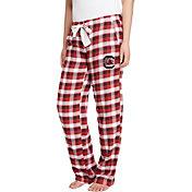 Concepts Sport Women's South Carolina Gamecocks Garnet/Black Piedmont Flannel Sleep Pants