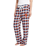 Concepts Sport Women's Syracuse Orange Blue/Orange Piedmont Flannel Sleep Pants
