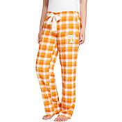 Concepts Sport Women's Tennessee Volunteers Tennessee Orange/White Piedmont Flannel Sleep Pants