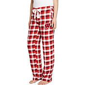 Concepts Sport Women's Wisconsin Badgers Red/Black Piedmont Flannel Sleep Pants