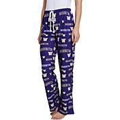 Concepts Sport Women's Washington Huskies Purple Fairway Sleep Pants