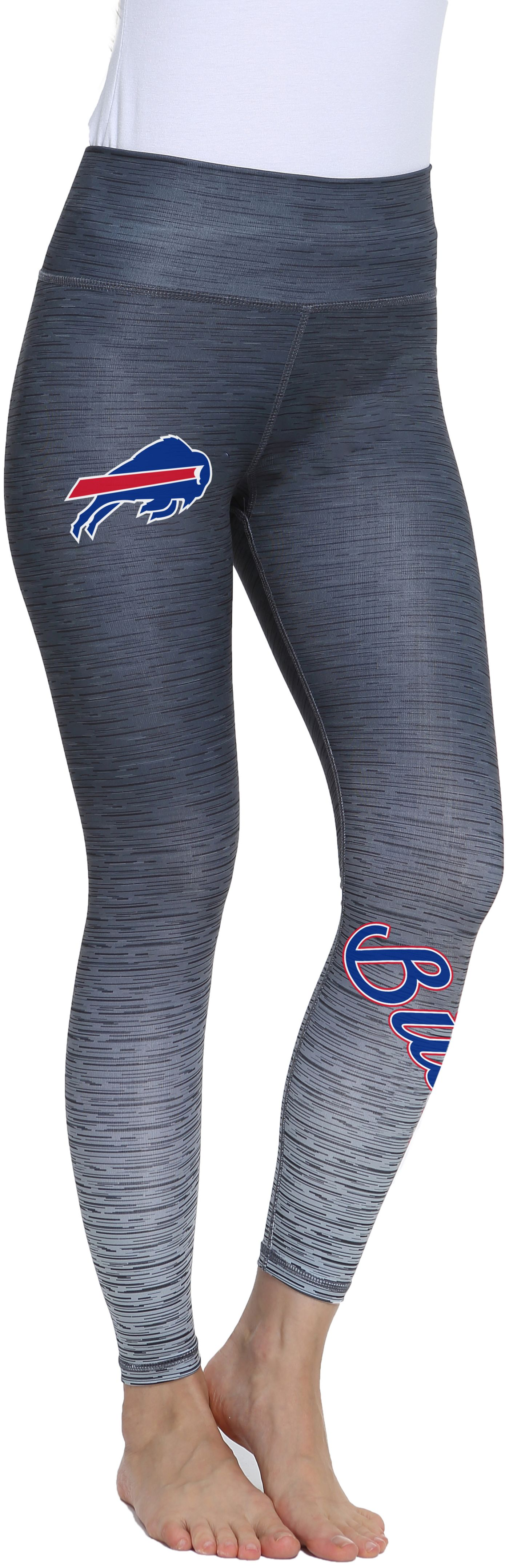 Concepts Sport Women's Buffalo Bills Flyaway Charcoal Leggings