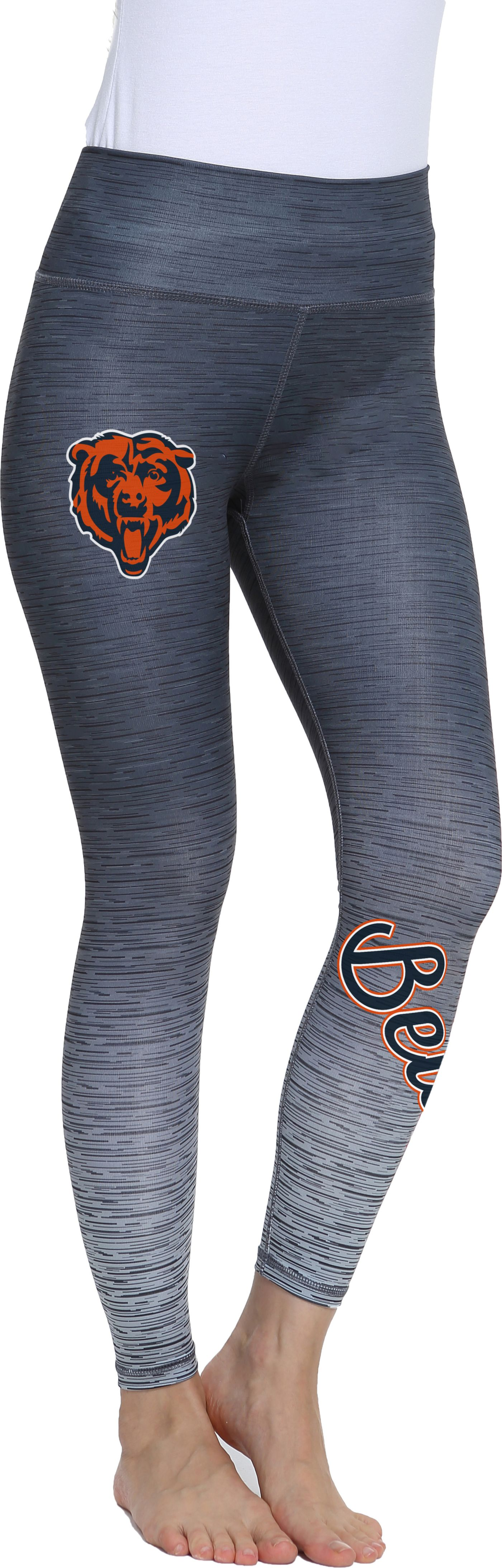 Concepts Sport Women's Chicago Bears Flyaway Charcoal Leggings