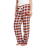 Concepts Sport Women's Cleveland Browns Piedmont Flannel Pants