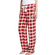 Concepts Sport Women's Kansas City Chiefs Piedmont Flannel Pants