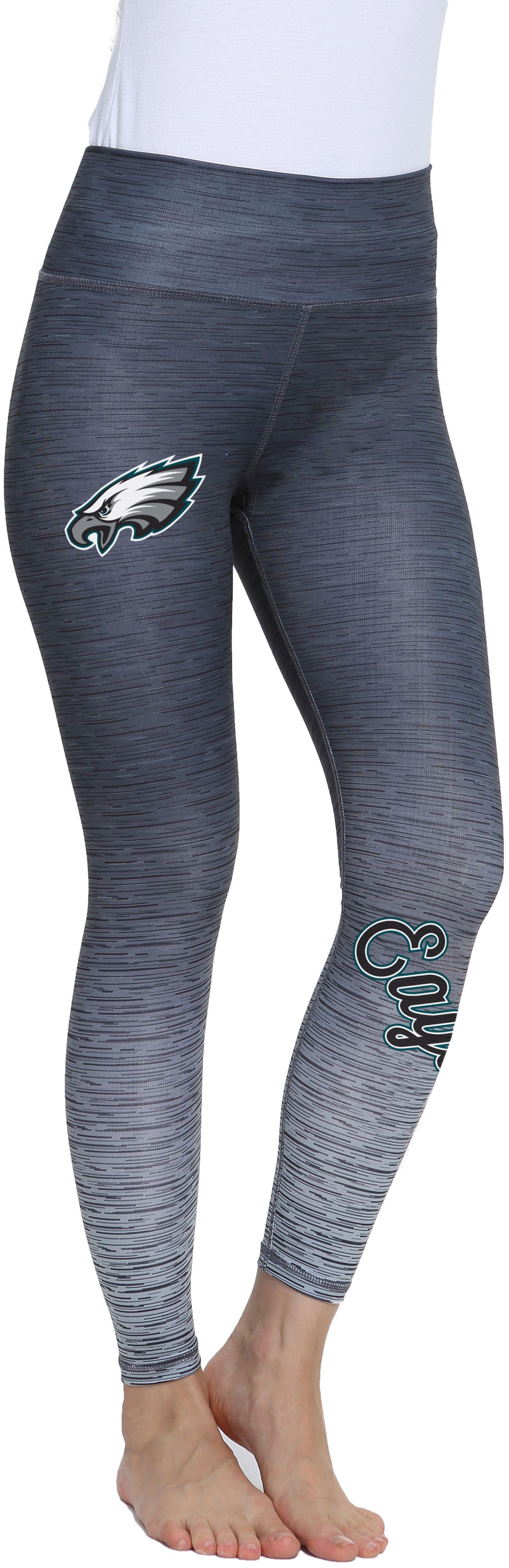 Concepts Sport Women's Philadelphia Eagles Flyaway Charcoal Leggings