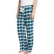 Concepts Sport Women's Philadelphia Eagles Piedmont Flannel Pants