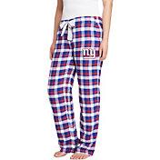 Concepts Sport Women's New York Giants Piedmont Flannel Pants